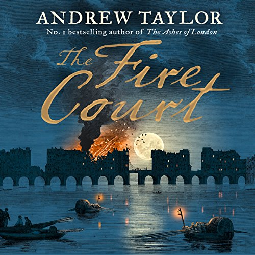The Fire Court audiobook cover art