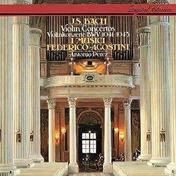 Bach, J.S.: Violin Concertos Nos. 1 & 2; Concerto for 2 Violins