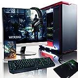 VIBOX Legend Hyperfreeze Gaming PC Ordenador De Sobremesa Con Cupón De Juego, Win 10 (4,0GHz Intel I7 X 6-Core, 2X Dual SLI GeForce GTX 1070, 32GB DDR4 RAM, 500GB SSD, 3TB HDD)