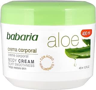 Babaria Aloe Vera Crema corporal, 400 ml