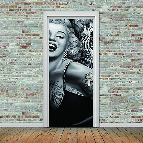 Marilyn Monroe Selbstklebend, Diy,Wasserdicht, Selbstklebend, Selbstklebend, Für Kinderzimmer, Home Decor,Pvc, 77 X 200 Cm