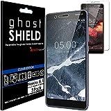 TECHGEAR [3 Pack] Protection Écran pour Nokia 5.1 [ghostSHIELD] Film de Protection Souple en TPU...