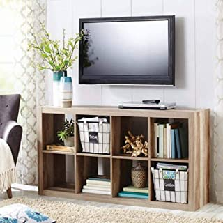 Better Homes and Gardens.. Bookshelf Square Storage Cabinet 4-Cube Organizer (Weathered) (White, 4-Cube) (Weathered, 8-Cube)