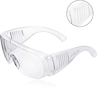 Safety Glasses, ZHIKE Clear Anti-Fog and Scratch Reduction Goggle for Work and Sport, Men,Women (1 Pack)