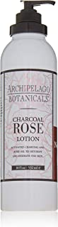 Archipelago Botanicals Charcoal Rose Lotion, 18 Fl Oz