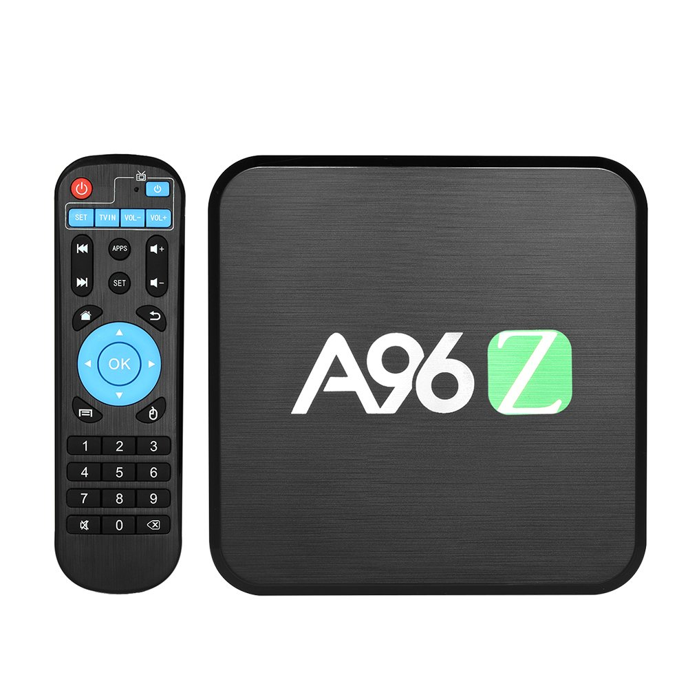 Docooler Smart TV Box Android 6.0 S905X Quad-Core 2GB / 16GB 64 Bit UHD 4K 3D VP9 H.265 Mini PC 2.4G/5.8G WiFi DLNA Bluetooth 4.0 HD Media Player EU Enchufe Negro: Amazon.es: