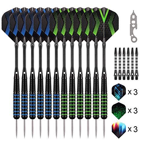 Grebarley Darts Steel Tip Set Professional for...