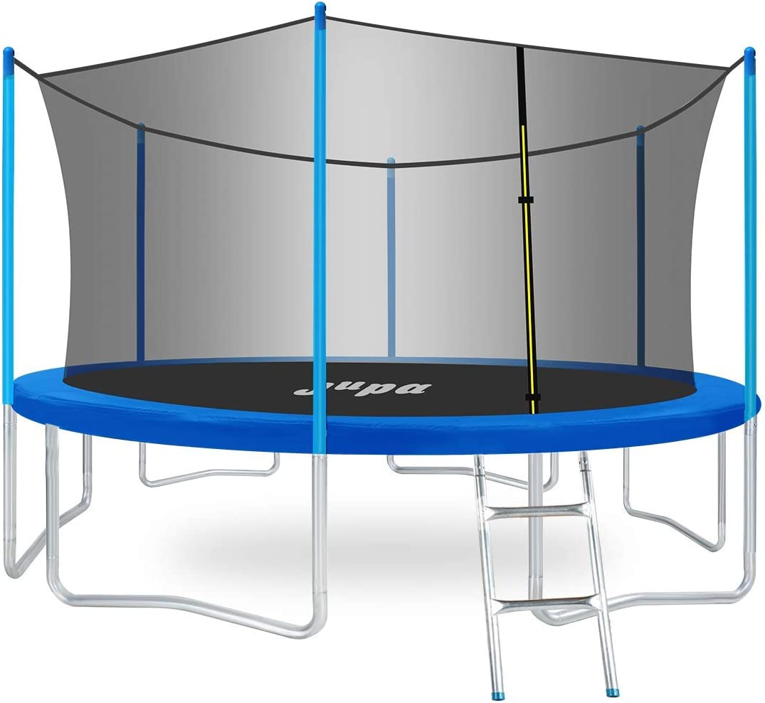 JUPA 425LBS Weight Capacity Kids 10FT 14FT 12FT メーカー公式ショップ 15FT Trampoline 直営店