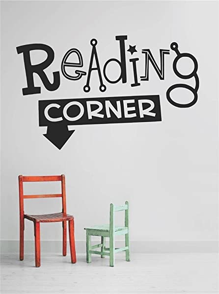 Design With Vinyl OMG A 431 231 Decor Item Decal Vinyl Wall Sticker Reading Corner Quote Home Living Room Bedroom Decor Item 10 Inch X 20 Inch Black