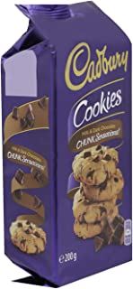 Cadbury Milk & Dark Chocolate Chunk Sensations Cookies, 200 g