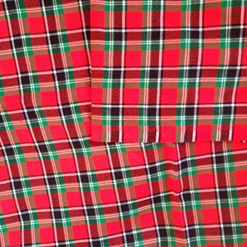 Butterfly Shukas - Maasai Bettwäsche | Massai Ethnic shuka Picknick-Decke/Überwurf, Tagesdecke, bodywrap, kariert, Rot, Grün, Weiß, Schwarz,