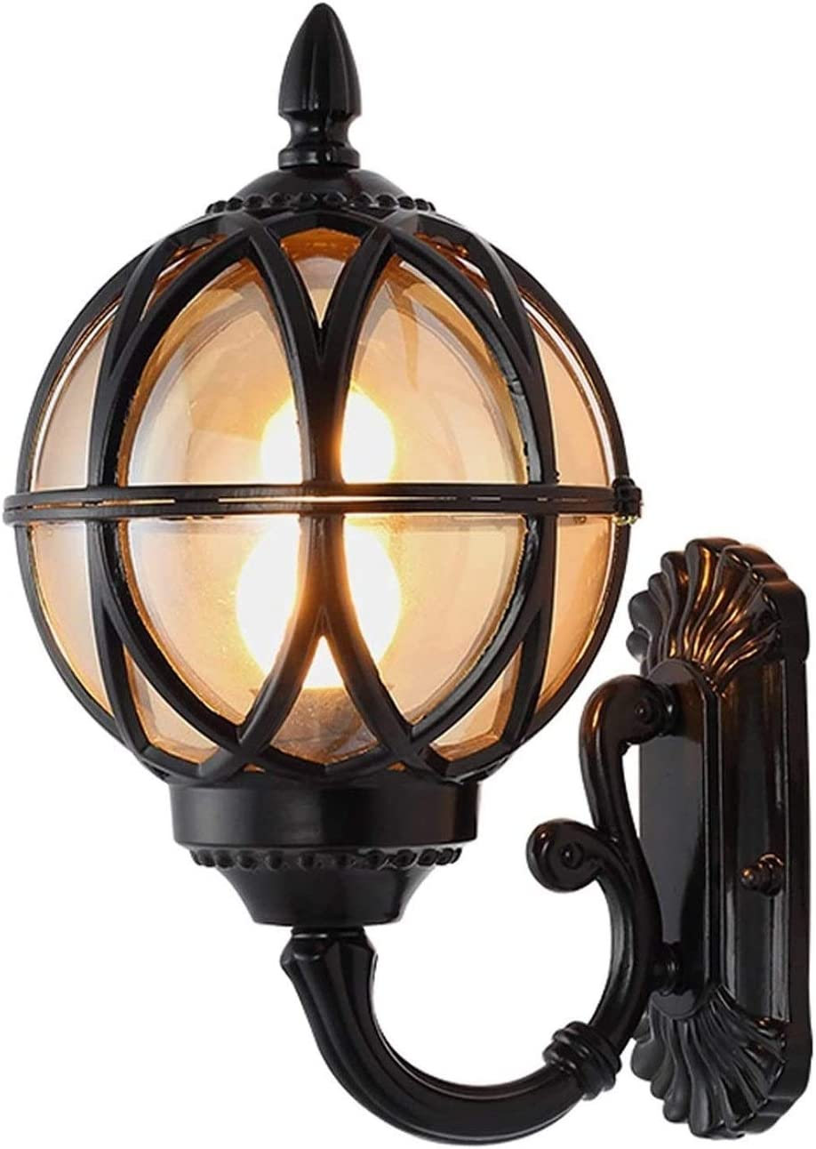 Recommended GaLon Wall Lamp Outdoor Waterproof Lantern New product! New type European Mural Antiqu