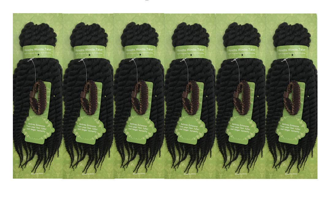 Bellrino 5% OFF 6 At the price of surprise Packs 12 inch Havana Twist Crochet Braids Seneg Mambo