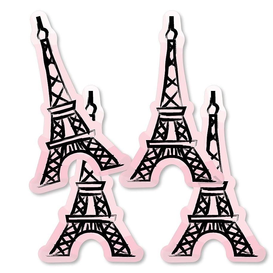 Paris, Ooh La La - Eiffel Tower Decorations DIY Paris Themed Baby Shower or Birthday Party Essentials - Set of 20