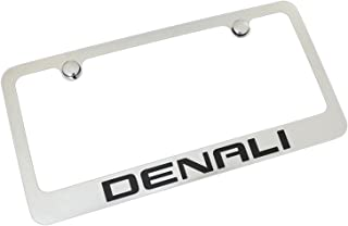 GMC Denali Chrome Metal License Plate Frame