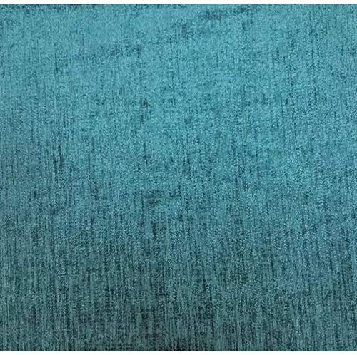 17 Stories Chenille Orthopaedic Pocket-sprung (Teal, Super King (6'), No Drawer)