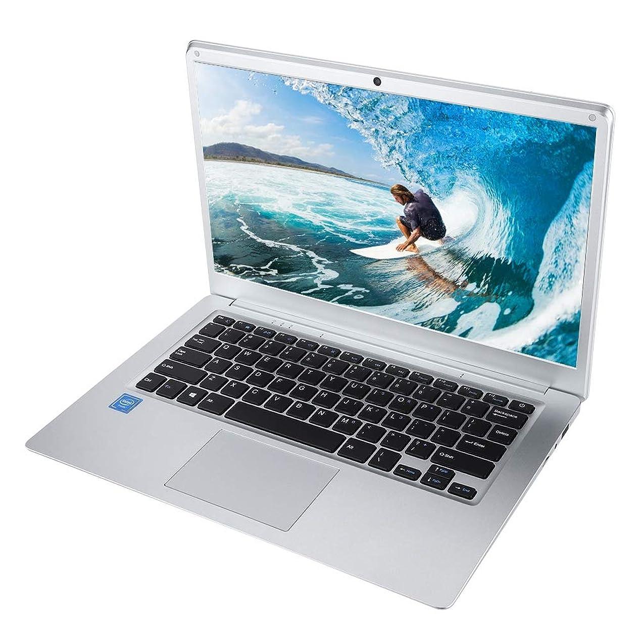最高ケーブル仕出しますRicher-R ノートパソコンWindows 10 14インチLED HD 4コアBluetoothノートパソコン HDカメラ 大容量メモリ4G + 64G(シルバー)