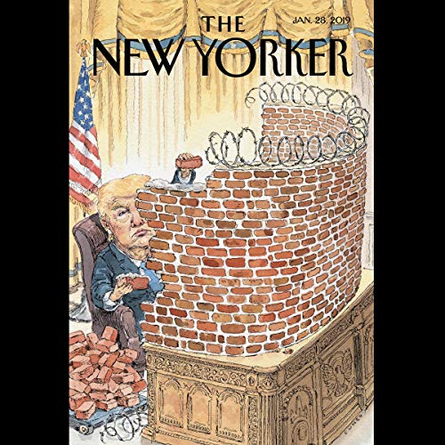 Couverture de The New Yorker, January 28th 2019 (Jill Lepore, Jia Tolentino, Jeffrey Toobin)