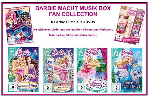 Barbie macht Musik Box - Fan Collection (6 Filme 6 DVDs)