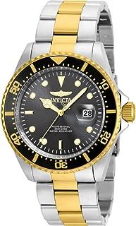 Invicta Men's 22057 'Pro Diver' Quartz Stainless Steel Two Tone Bracelet Watch