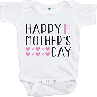 Custom Party Shop Baby Girls' First Mothers Day Onepiece