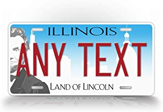 Best illinois state alumni license plate frame Reviews