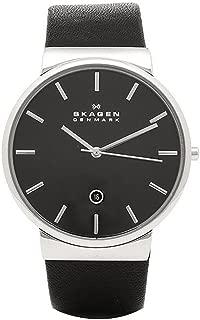 スカーゲン 時計 メンズ SKAGEN SKW6104 ANCHER アンカー 腕時計 ウォッチ ブラック/シルバー [並行輸入品]