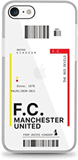 Yalox iPhone 7/8/SE (2nd Gen) Case Manchester United Full Body Rugged Case with Built-in Touch Sensitive Anti-Scratch Scre...