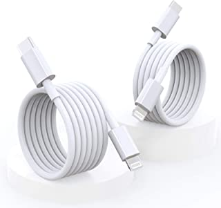 USB C to Lightning Cable, HARIBOL iPhone 12 Fast Charger Cable, 2Pack 1.2M/2M 【MFi Certified】 Type C to Lightning Cable Co...