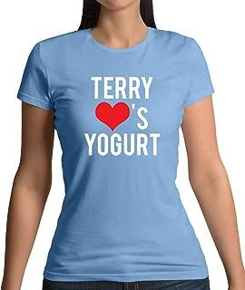 Terry Loves Yogurt - Womens T-Shirt - 14 Colours