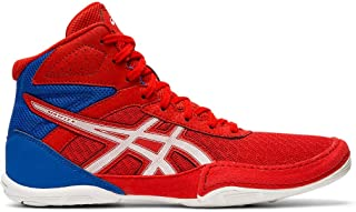 Asics Kid's Matflex 6 GS Wrestling Shoes, 2.5M, Classic RED/White