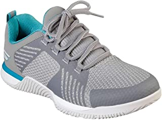 Skechers Women's GoTrain Viper Cross Training Shoes Grey/Blue