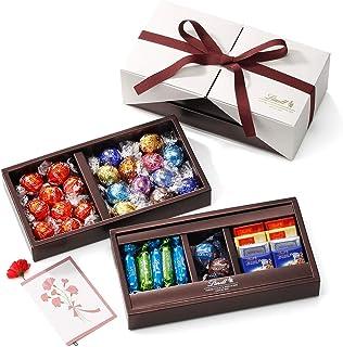 リンツ (Lindt) チョコレート母の日ギフトピック&ミックスギフトコレクションプレミアムAショッピングバッグL2付...