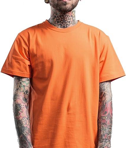 Honghu Coton Crew Neck T-shirt Homme
