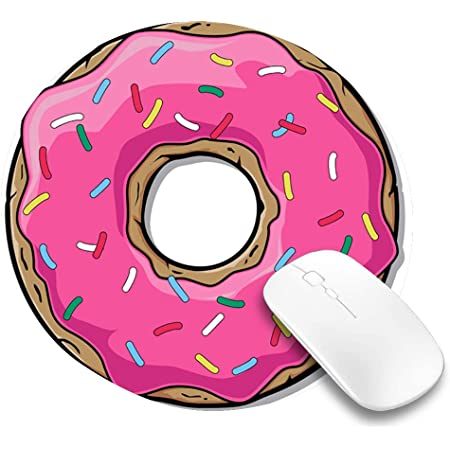 Cute Desk Accessories Donut Mouse Pad Cute Mouse Pad Mouse Pads Doughnut Mouse Pad Desk Decor Donut Pattern Office Decor Donut Gift
