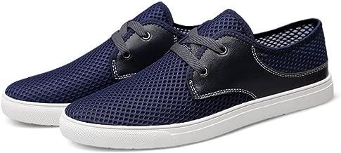 [クツのクロダ] メンズ 通気性 靴 編み込み ローカット 28.5cm メッシュシューズ 夏用 大きいサイズ 新品
