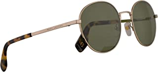 Marc Jacobs Marc 272/S Sunglasses Gold w/Green Lens 53mm J5GQT Marc 272S Marc272S Marc272/s