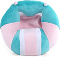 DBSCD Children's Mini Sofa Children; Portable Seat Support, Children's Mini Sofa Children; Soft Plush, Soft Floor Seat, Cushion Plush Cartoon Cute Safety-E 38x36x20cm (15x14x8inch)