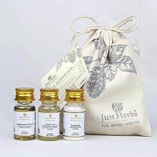 Just Herbs Ayurvedic Anti Dandruff Trial kit