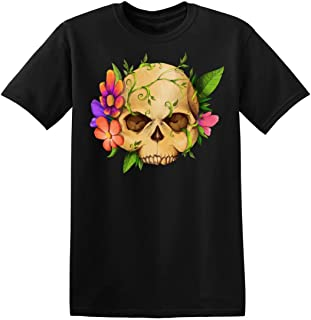 Fatal Floral Skull Men's T-Shirt