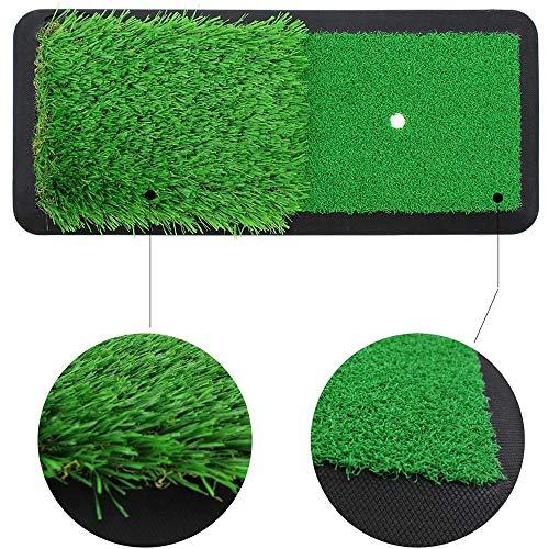 Golf Raken Matten, Indoor/Home Backyard Aërobe Golf Gazon Praktijk Matten, Matten Voor Het Aanbrengen, Het Slingeren, En Snijden Ballen Voor Mannen En Vrouwen