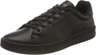 Tommy Hilfiger Leather, Retro Tennis Cupsole in Pelle Uomo