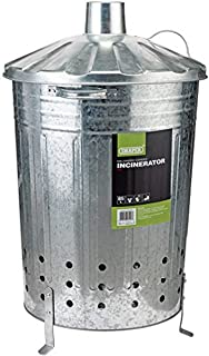 Draper GLI Unknown Galvanised Garden Incinerator, Silver