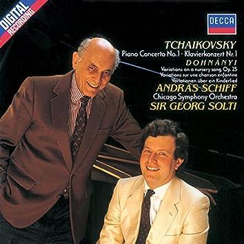 Tchaikovsky: Piano Concerto No.1/Dohnányi: Nursery Variations