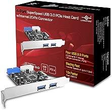 Vantec 4 Port USB 3.0 PCIe with Internal 20 pin Host Card (UGT-PC345)