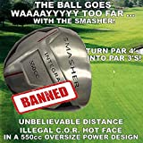 #1 PGA Long Distance Integra Smasher Illegal Distance Banned Oversize 550cc Custom Golf Driver - Compare Taylormade Callaway Ping