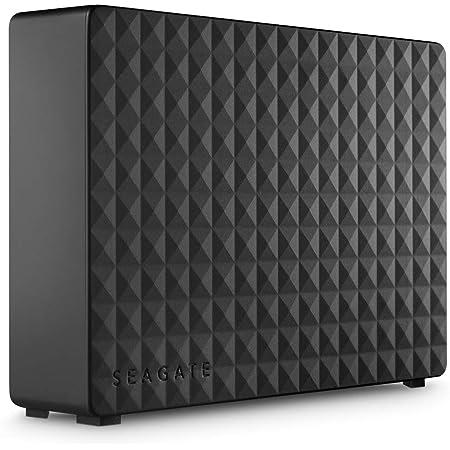 Seagate Expansion Desktop 10TB External Hard Drive HDD - USB 3.0 for PC & Laptop, 1-Year Rescue Service (STEB10000400), Black