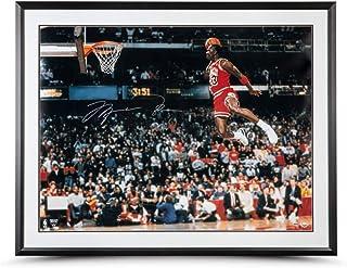 9b028f8074d8 Michael Jordan 1988 Slam Dunk Huge 30x40 Custom Framed Photo Chicago Bulls  UDA