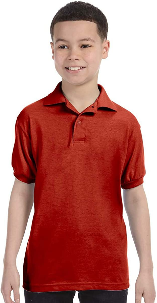 Challenge the lowest price of Japan Hanes Boy's Kids' Cotton-Blend Special price for a limited time Jersey 054Y Polo