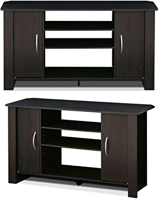 huge selection of 79a53 8eb32 Amazon.com: Furinno 14055EX Econ TV Stand Entertainment ...